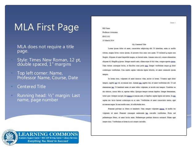 does mla format have a cover page The mla guidelines specify using title case capitalization - capitalize the first words, the last words, and all principal words, including those that follow hyphens in compound terms use lowercase abbreviations to identify the parts of a work (eg, vol for volume , ed.