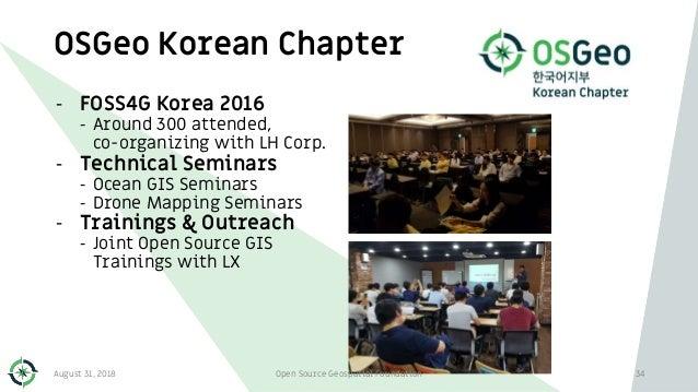 OSGeo Korean Chapter 34 - FOSS4G Korea 2016 - Around 300 attended, co-organizing with LH Corp. - Technical Seminars - Ocea...