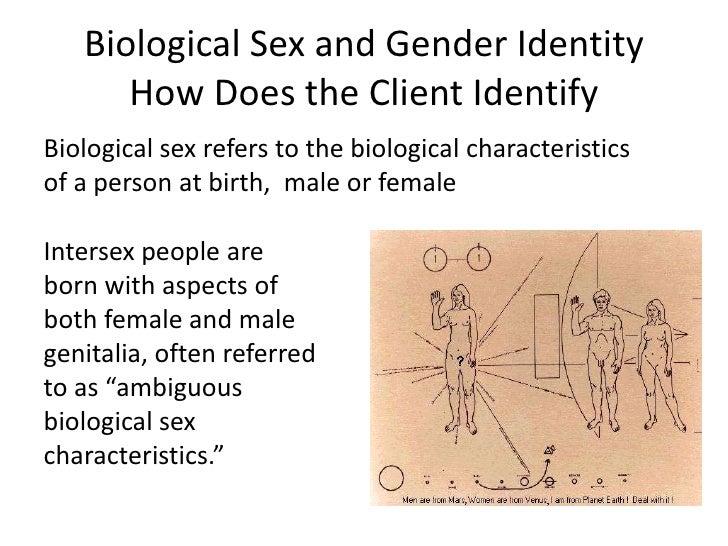 Ambiguous biological sex characteristics