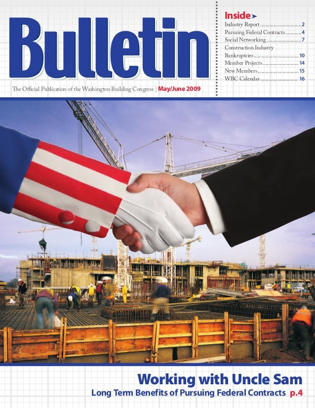 Inside Industry Report................................2Pursuing Federal Contracts.............4Social Networking...........