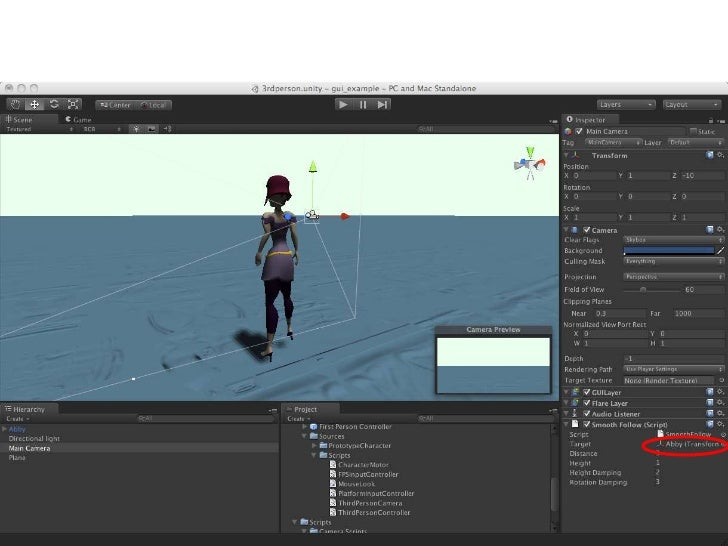 Game Project / Working with Unity