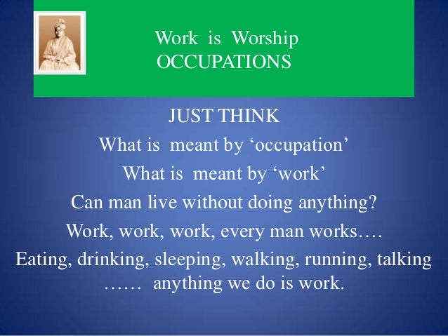 Image result for work is worship image