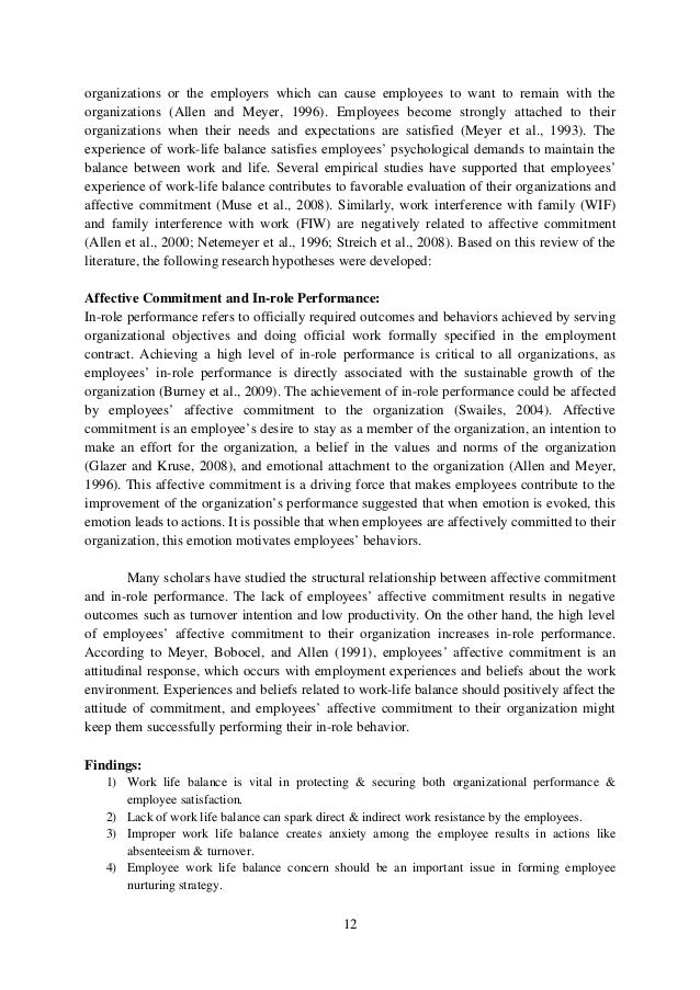 effects of psychological contract on the work life balance This study examines the determinants of psychological contract  such as pay  satisfaction, work life balance, organization culture, social atmosphere,   according to bhargava (2009), the studies examining the impact of human  resource on.