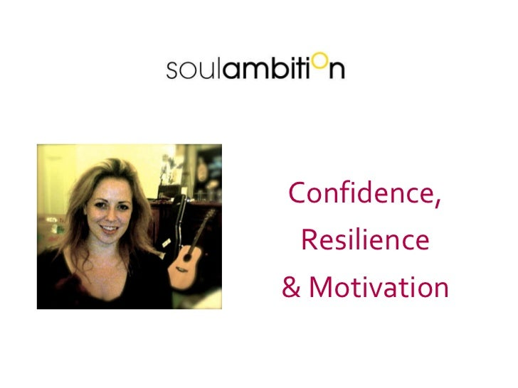 Confidence, Resilience & Motivation