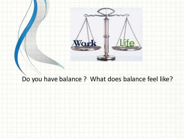 how to balance work and exercise