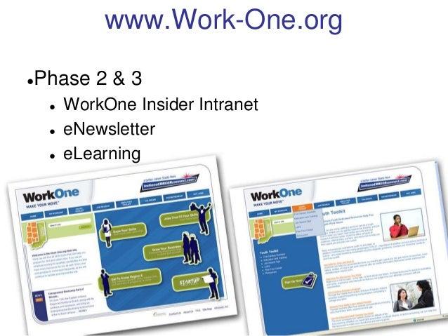 WorkOne, Region 6: MarComm Update Slide 2