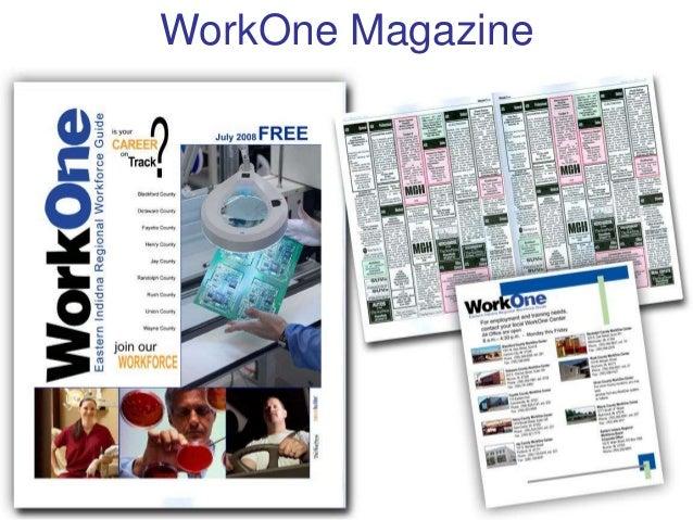 WorkOne, Region 6: MarComm Update Slide 3