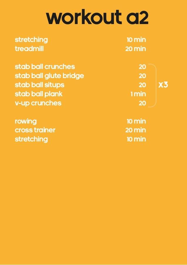 Fat loss workout plan pdf