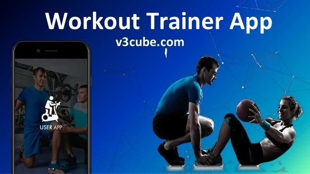 Workout Trainer App v3cube.com