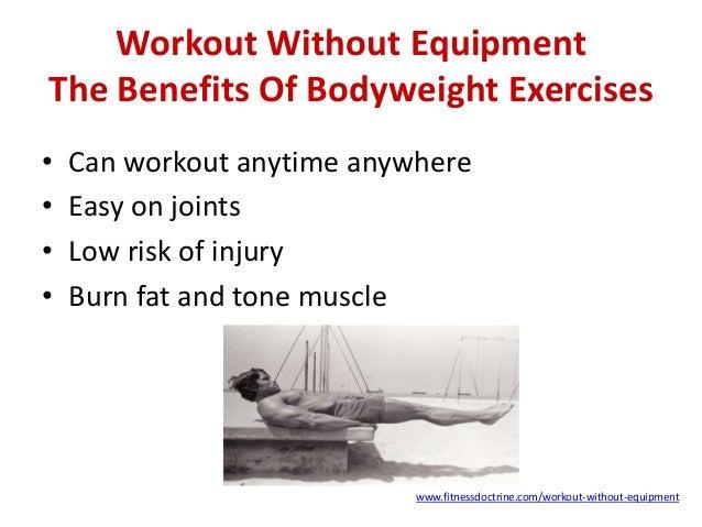 Resultado de imagen para bodyweight benefits