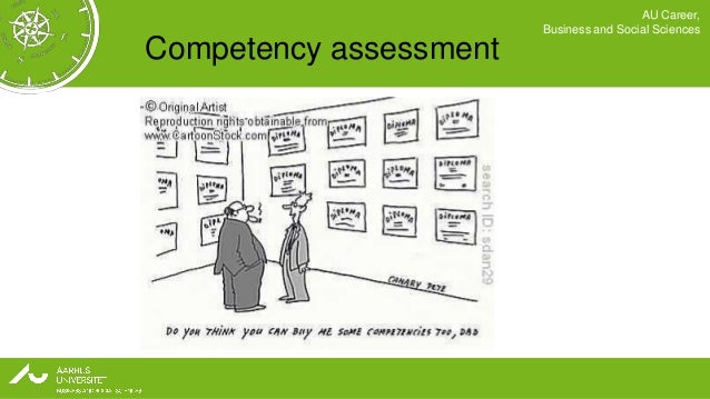AU Career,                        Business and Social SciencesCompetency assessment