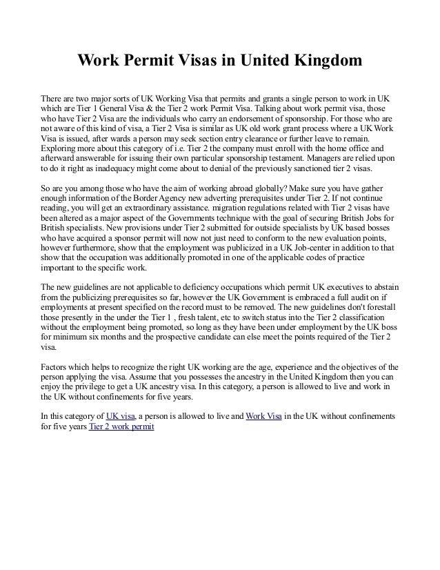 Work permit visas in united kingdom 1 638gcb1375677637 work permit visas in united kingdom there are two major sorts of uk working visa that thecheapjerseys Choice Image