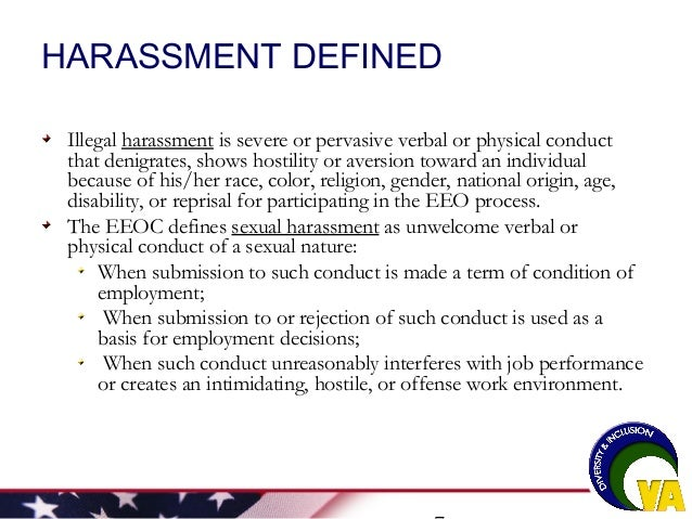 Eeoc definition of sexual harassment images 75