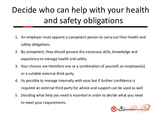 Health and Safety Made Easy Powerpoint Presentation