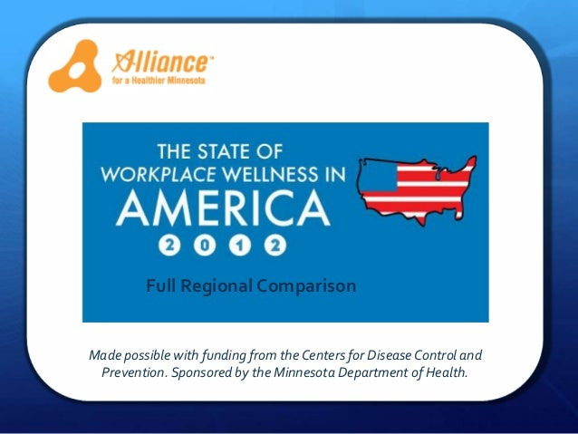 Alliane         Full Regional ComparisonMade possible with funding from the Centers for Disease Control and Prevention. Sp...