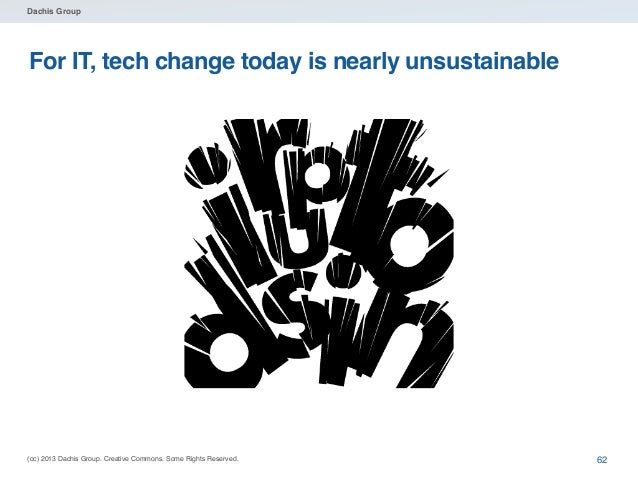 Dachis Group  Rethinking tech adoption • Ignoring technology change isn't the • • • •  answer Maintaining backlogs isn't t...