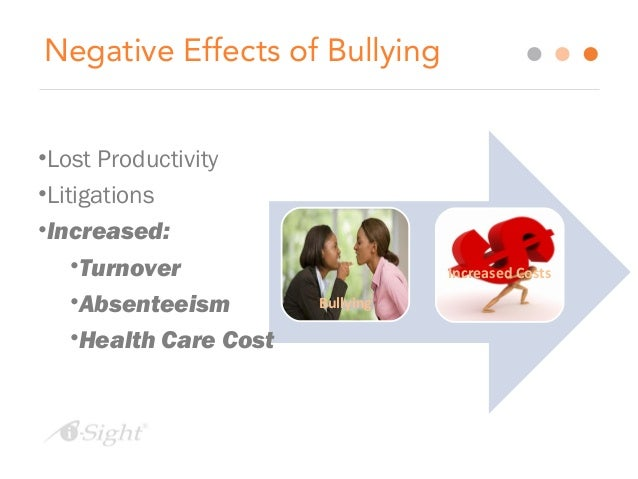 the harmful effects of bullying The golden rule and bullying recent bullying-related studies suggest there is a strong link between bullying and suicide many parents, teachers, and students learn the dangers of bullying and reach out to help students who may be at risk of committing suicide though too many adults still see bullying as.