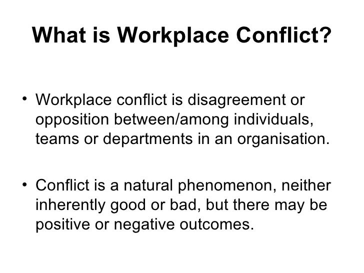 productivity conflict resolution in work teams In most cases when personality conflicts happen in the workplace, the entire team team are in conflict productivity the effectiveness of teams relies.