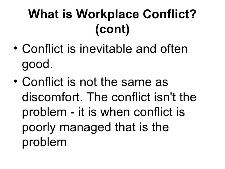 conflict is natural and inevitable We can divide this question into three components first, do people generally believe that science and religion are in conflict second, does the.