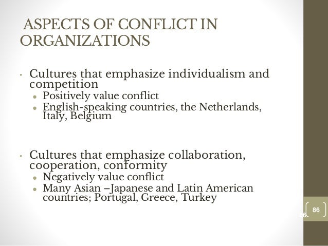 excessive intergroup conflict Group and intergroup processes 1,265 views share like download  dishantjames follow  concern about excessive work, defensiveness and competition among the members—who may argue even when they agree on the real issues—and questioning of suggested approaches  the group attempts to reach harmony or avoid personal conflict by.