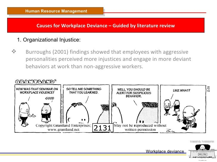 Literature review on stress management at workplace