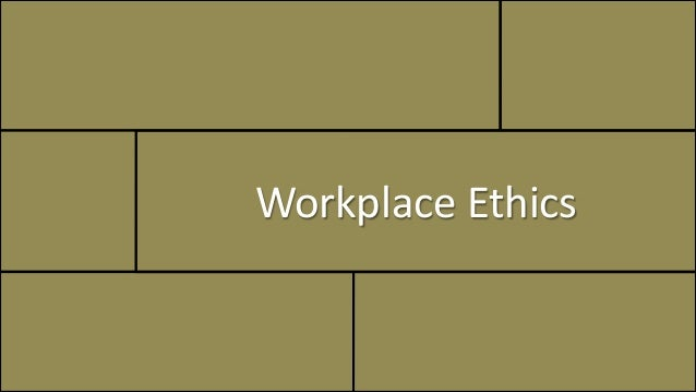 ethics privacy in the workplace Proper ethics in the workplace are vital for business success managing without ethics will make employee motivation near impossible learn which ethics are the most important to address first.