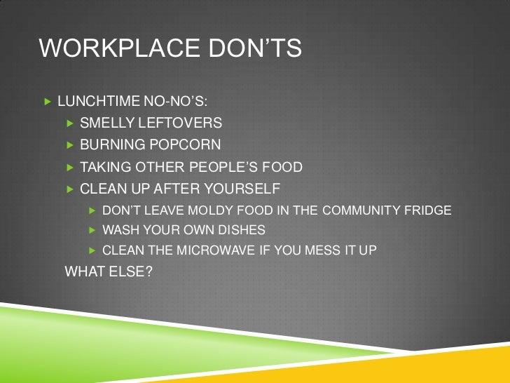 Workplace etiqu... Fancy Office