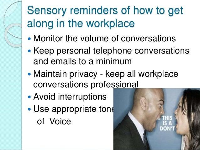 workplace etiquette  u0026 manners