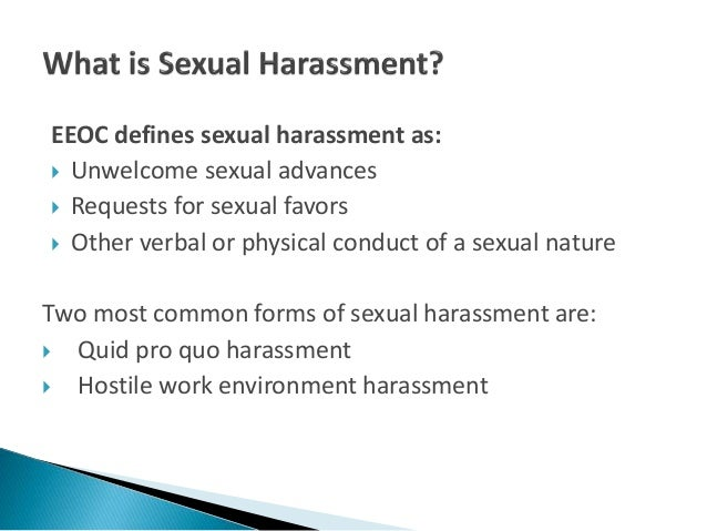 What is quid pro quo sexual harassment photos 33