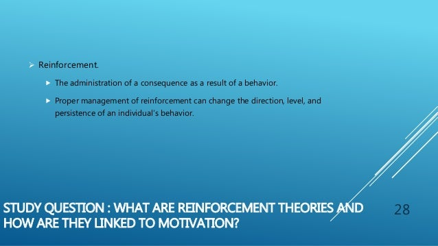 motivation is generally linked to reward management essay Managers may influence motivation through the organization's reward systems, or they may adopt specific interventions derived from one or more theories organizational reward systems the organization's reward system is the basic structural mechanism that an organization uses to motivate workers.