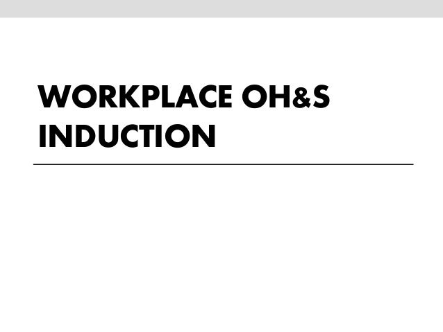 ohs workplace Occupational health refers to the identification and control of the risks arising from physical, chemical, and other workplace hazards in order to establish and maintain a safe and healthy working environment these hazards may include chemical agents and solvents, heavy metals such.