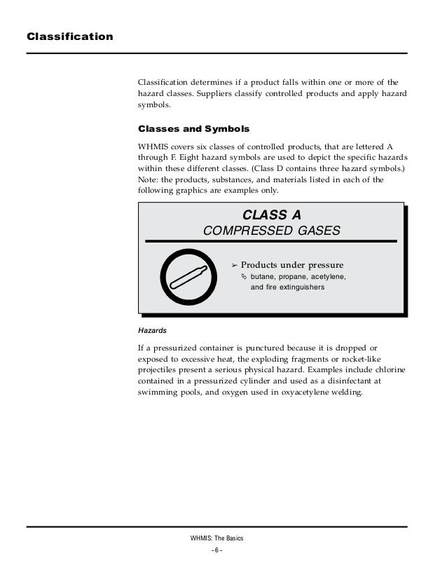 Workplace Safety 101 Workplace Hazardous Materials Information Syst