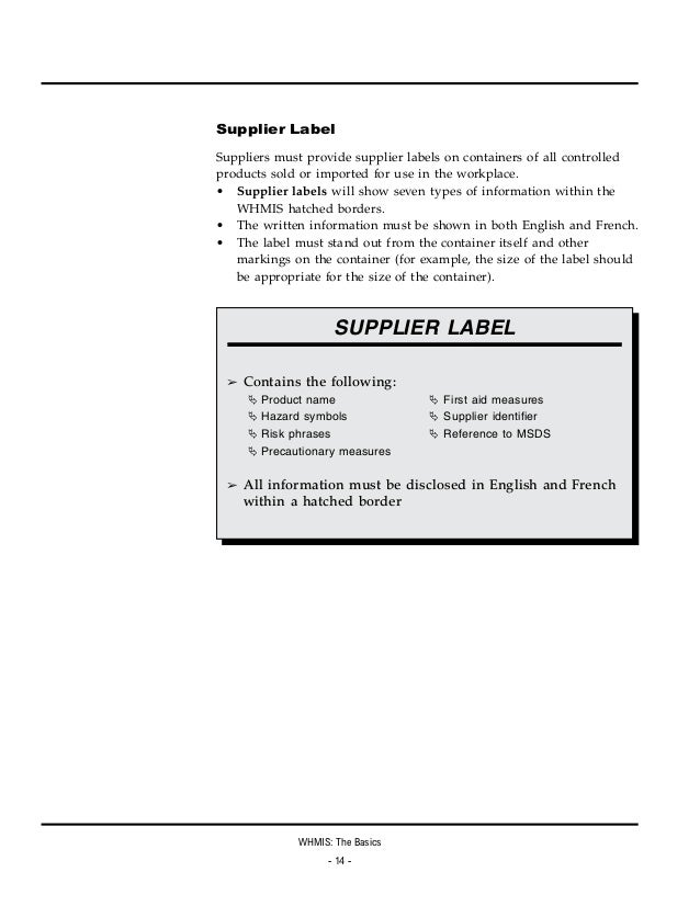 Best Whmis Workplace Label Template Photos >> Unusual Chemical Label ...