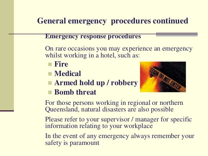Workplace Safety And Security Hotel.Ppt