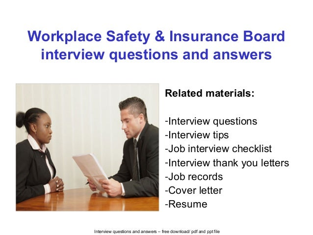 workplace safety and insurance act pdf