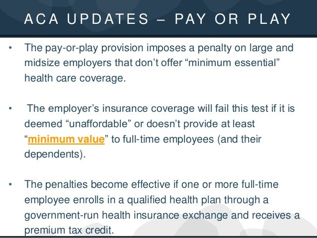 Workplace Wellness Programs & The Law: Your ACA, HIPAA and ERISA Comp…