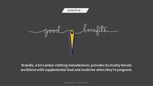 Brandix, a Sri Lankan clothing manufacturer, provides its mostly female workforce with supplemental food and medicine when...