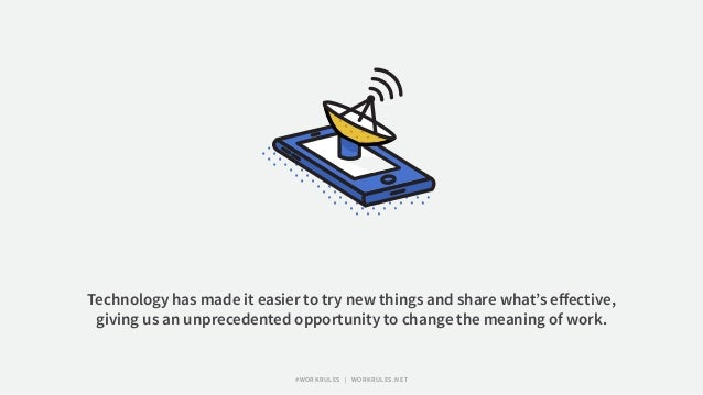 Technology has made it easier to try new things and share what's effective, giving us an unprecedented opportunity to chang...