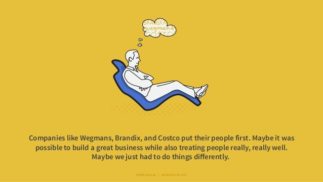 Companies like Wegmans, Brandix, and Costco put their people first. Maybe it was possible to build a great business while ...