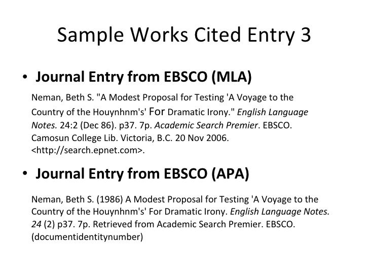 How to Write a Journal Entry in APA Format