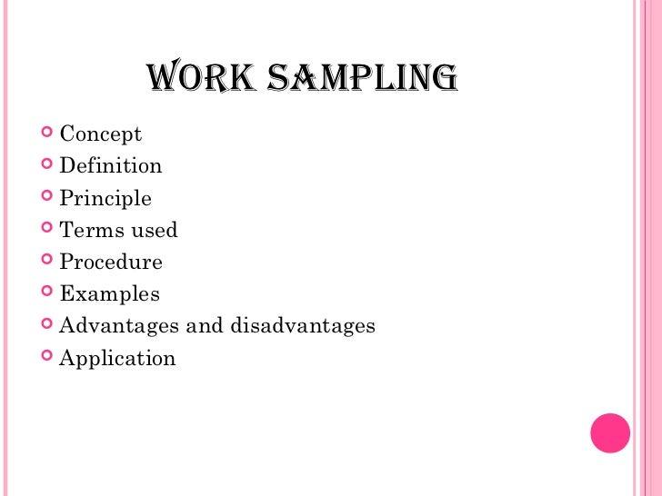 Work Sample