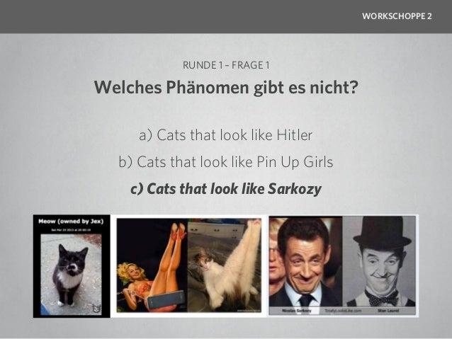 WORKSCHOPPE 2                  RUNDE 1 – FRAGE 2        Welches Kätzchen hat die        meisten YouTube-Views?         a) ...