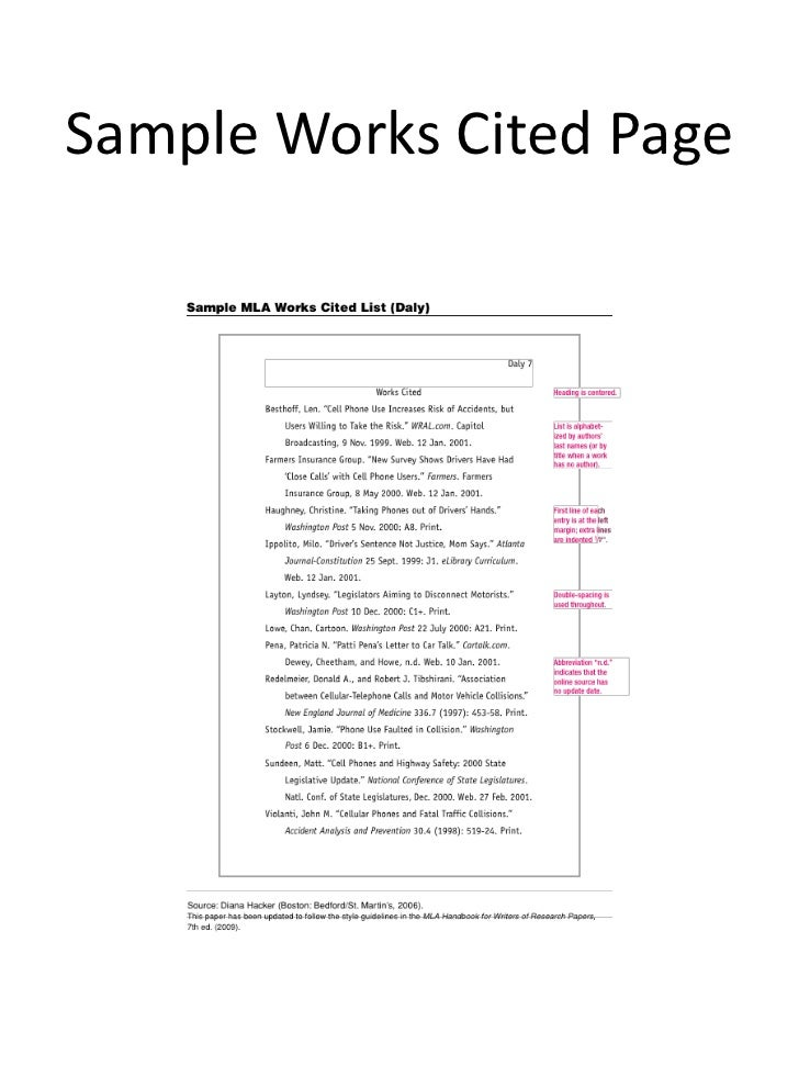 examples of a works cited page solid graphikworks co