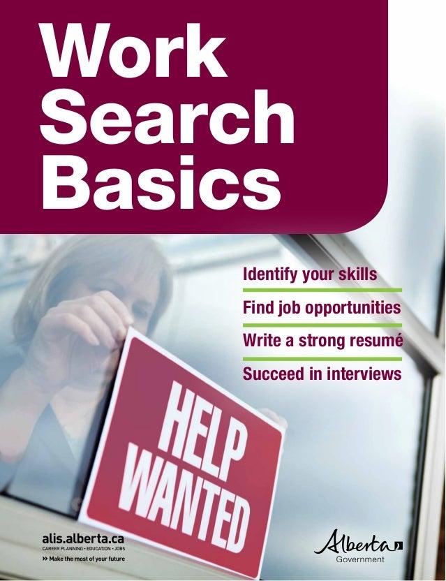 Work Search Basics