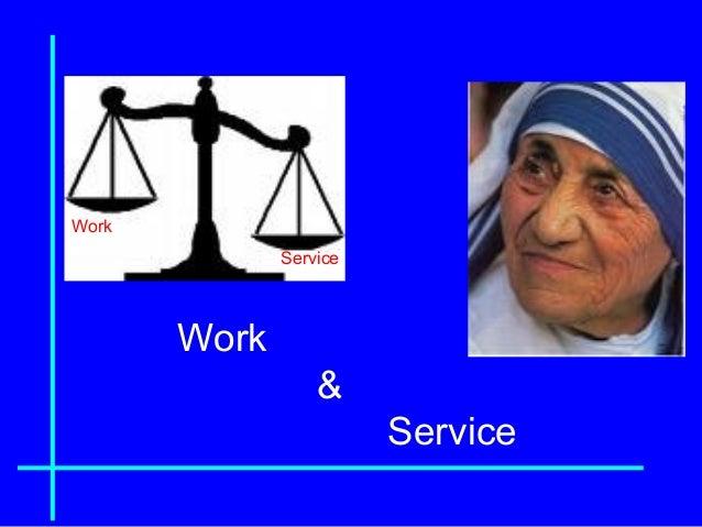 Work & Service Work Service