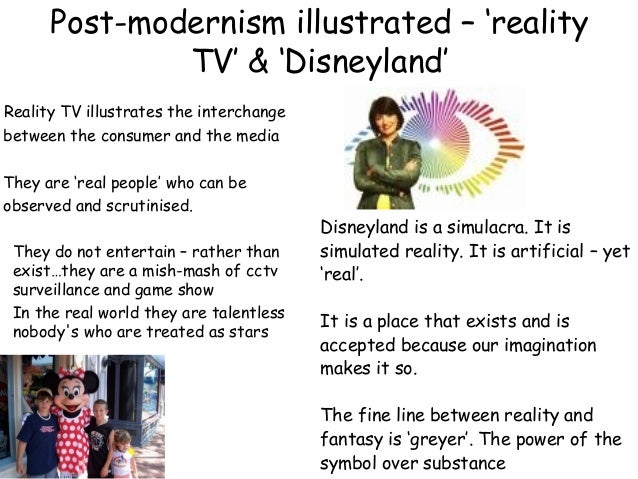 postmodernist essay Globalisation, modernity & postmodernity essay 1 'society has now entered a new, postmodern age and we need new theories to understand it.