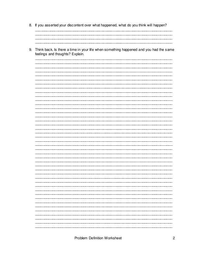 Worksheet problem definition – Definition of Worksheet