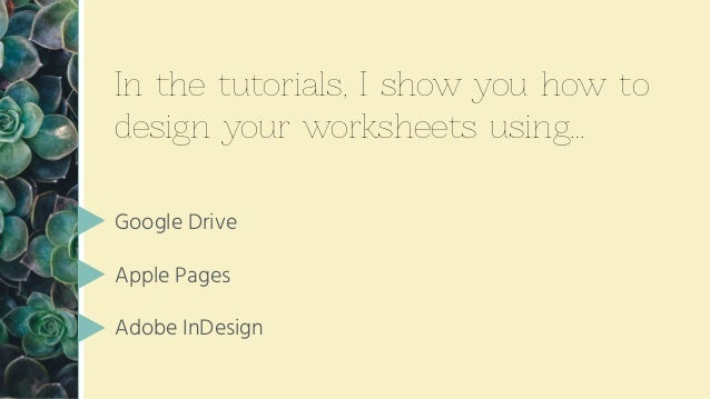 How To Create Worksheets Amp Freebies For Your Online