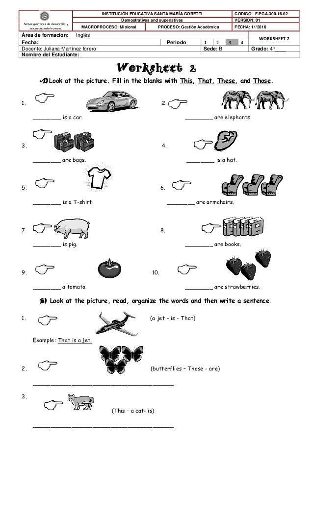 Worksheet 2 4