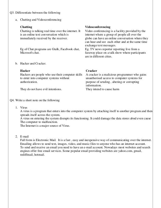 Computer worksheets for grade 4 pdf